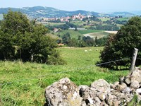 Beaujolais hills independent walking holidays in France